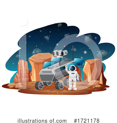 Astronaut Clipart #1721178 by Graphics RF
