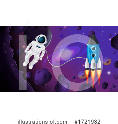 Astronaut Clipart #1721932 by Graphics RF