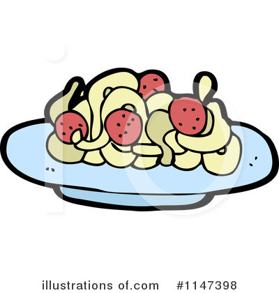 Pasta Clipart #1147398 by lineartestpilot