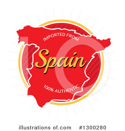 Royalty-Free (RF) Spain Clipart Illustration by Arena Creative - Stock Sample #1300280
