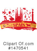 Royalty-Free (RF) Spain Clipart Illustration #1470541