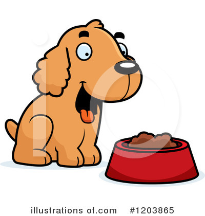 Royalty-Free (RF) Spaniel Clipart Illustration by Cory Thoman - Stock Sample #1203865