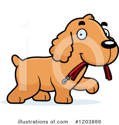 Dog Clipart #1203866 by Cory Thoman