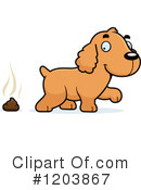 Spaniel Clipart #1203867 by Cory Thoman