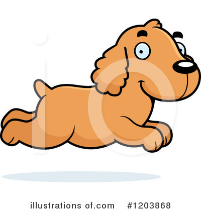 Spaniel Clipart #1203868 by Cory Thoman