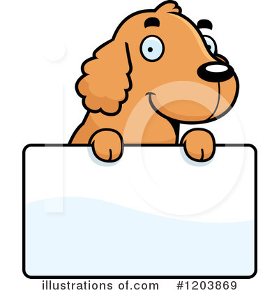 Spaniel Clipart #1203869 by Cory Thoman