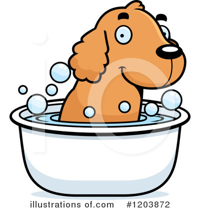 Spaniel Clipart #1203872 by Cory Thoman