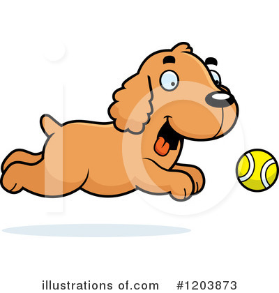 Spaniel Clipart #1203873 by Cory Thoman