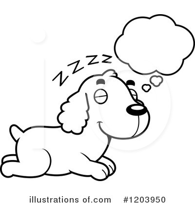 Spaniel Clipart #1203950 by Cory Thoman