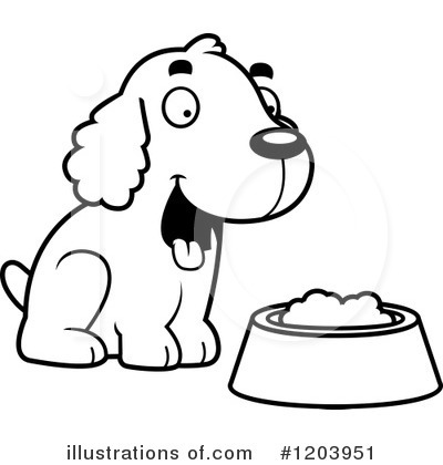 Spaniel Clipart #1203951 by Cory Thoman