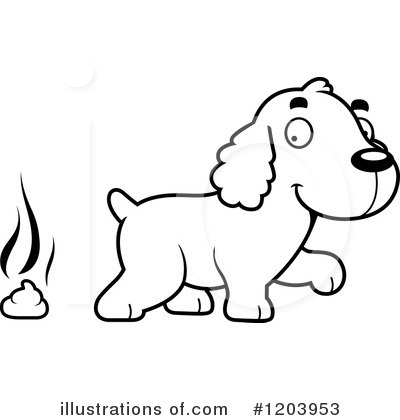 Spaniel Clipart #1203953 by Cory Thoman