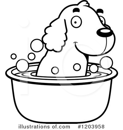 Spaniel Clipart #1203958 by Cory Thoman
