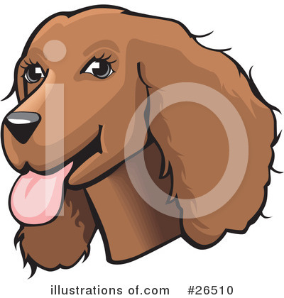 Spaniel Clipart #26510 by David Rey