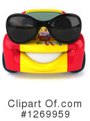 Royalty-Free (RF) Spanish Car Clipart Illustration #1269959