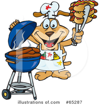 Bbq Clipart #65287 by Dennis Holmes Designs