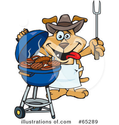 Barbecue Clipart #65289 by Dennis Holmes Designs