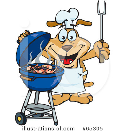 Bbq Clipart #65305 by Dennis Holmes Designs
