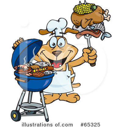 Barbecue Clipart #65325 by Dennis Holmes Designs