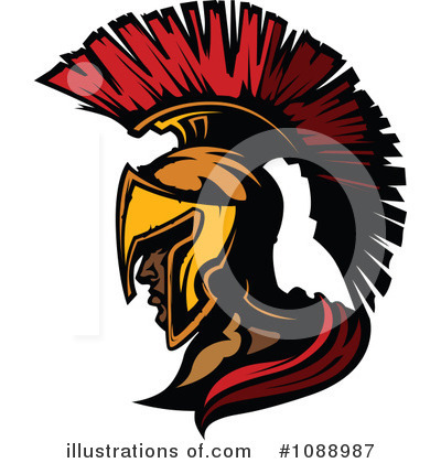 Spartan Clipart #1088987 by Chromaco