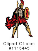 Royalty-Free (RF) Spartan Clipart Illustration #1116445