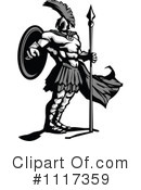 Royalty-Free (RF) spartan Clipart Illustration #1117359