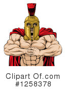 Royalty-Free (RF) Spartan Clipart Illustration #1258378
