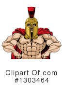 Royalty-Free (RF) Spartan Clipart Illustration #1303464