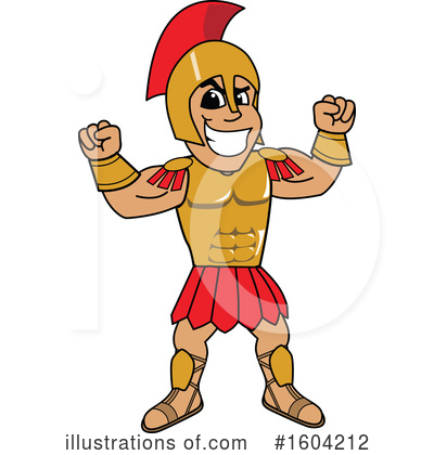 Spartan Clipart #1604212 by Toons4Biz