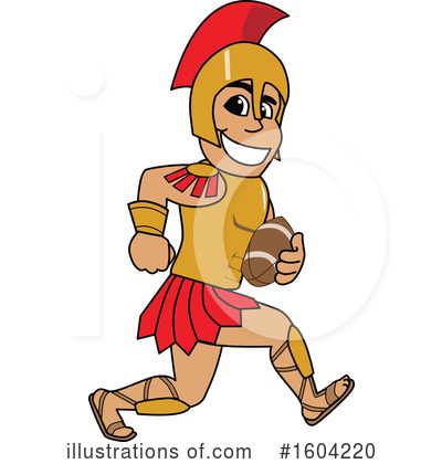 Spartan Clipart #1604220 by Toons4Biz
