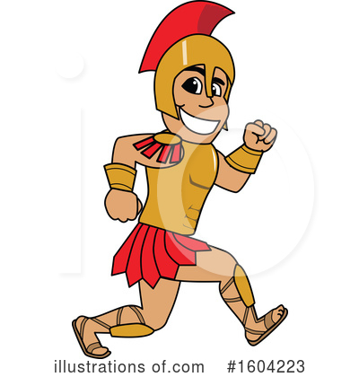 Spartan Clipart #1604223 by Toons4Biz