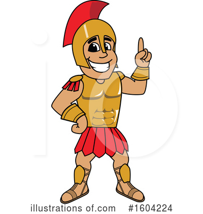 Spartan Clipart #1604224 by Toons4Biz