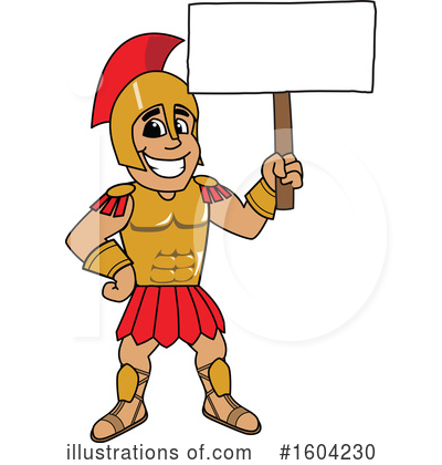 Spartan Clipart #1604230 by Toons4Biz
