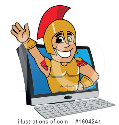 Spartan Clipart #1604241 by Toons4Biz
