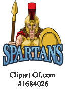 Spartan Clipart #1684026 by AtStockIllustration
