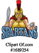 Spartan Clipart #1689254 by AtStockIllustration