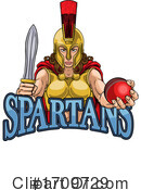Spartan Clipart #1709729 by AtStockIllustration