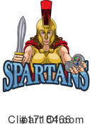 Spartan Clipart #1718466 by AtStockIllustration