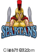 Spartans Clipart #1719323 by AtStockIllustration
