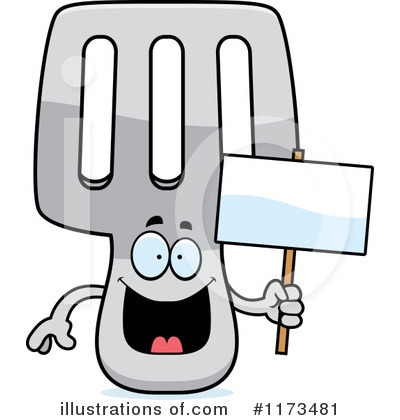 Spatula Clipart #1173481 by Cory Thoman