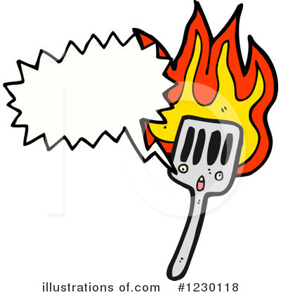 Spatula Clipart #1230118 by lineartestpilot