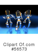 Speaker Robot Character Clipart #56573 by Julos