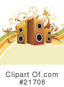 Speakers Clipart #21706 by OnFocusMedia