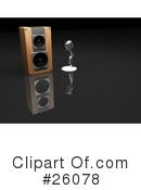 Speakers Clipart #26078