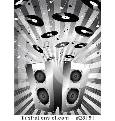 Music Notes Clipart #28181 by KJ Pargeter