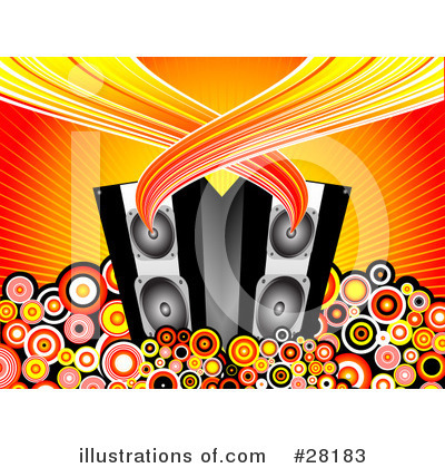 Music Speaker Clipart #28183 by KJ Pargeter