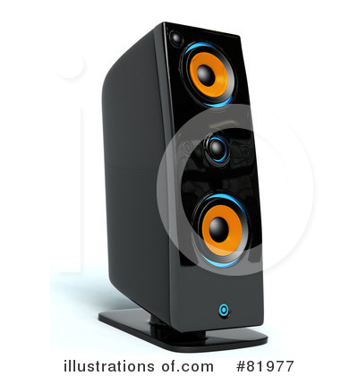 Music Speaker Clipart #81977 by Tonis Pan