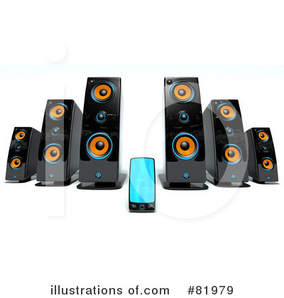 Music Speaker Clipart #81979 by Tonis Pan
