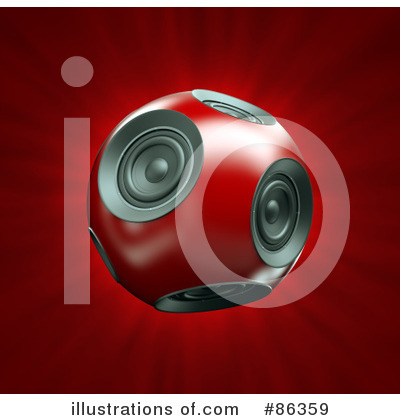 Music Speaker Clipart #86359 by Mopic