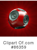 Speakers Clipart #86359 by Mopic