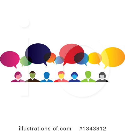 Word Bubble Clipart #1343812 by ColorMagic